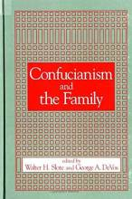 Cover artwork for book: Confucianism and the Family