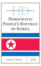 Cover artwork for book: Historical Dictionary of Democratic People's Republic of Korea