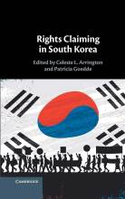 Cover artwork for book: Rights Claiming in South Korea