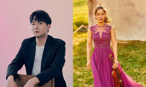 Esther Yoo violin; Yekwon Sunwoo piano