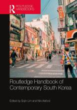 Cover artwork for book: Routledge Handbook of Contemporary South Korea