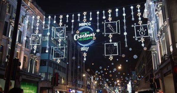 christmas lights london # 66