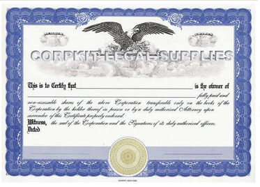 Free Stock Certificate Template Free Printable Documents