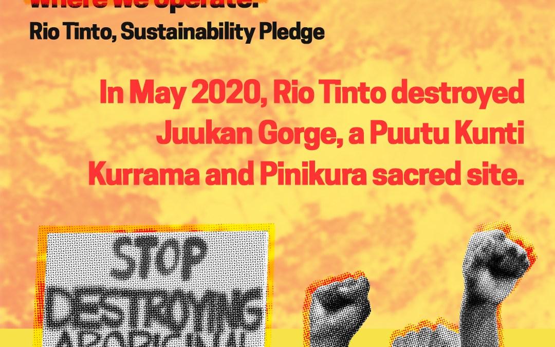 Evasion and hypocrisy: the 2021 Rio Tinto plc AGM