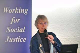 Author of Unearthing Justice, Joan Kuyek