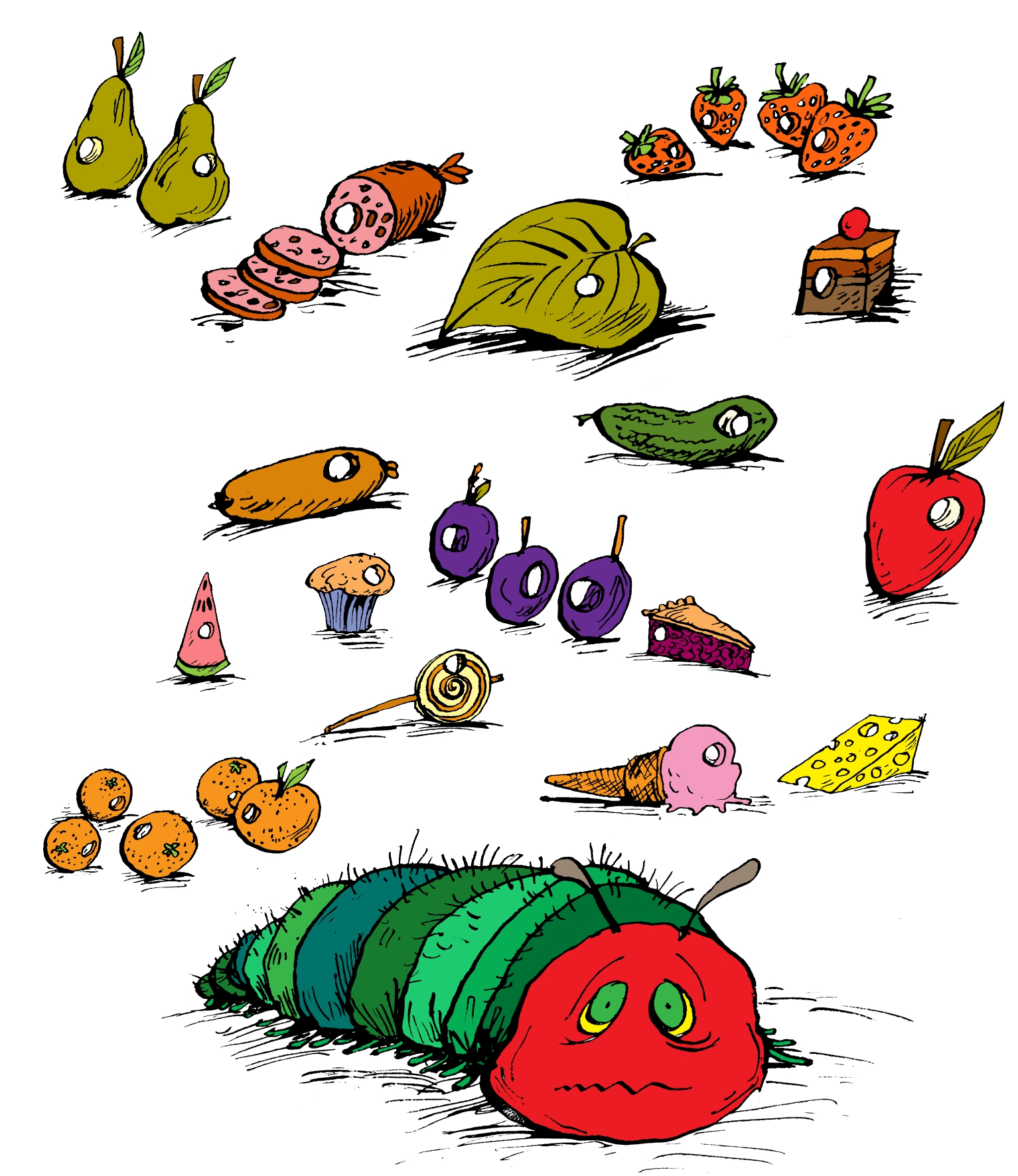 Eric Carle S Very Hungry Caterpillar Accused Of Being