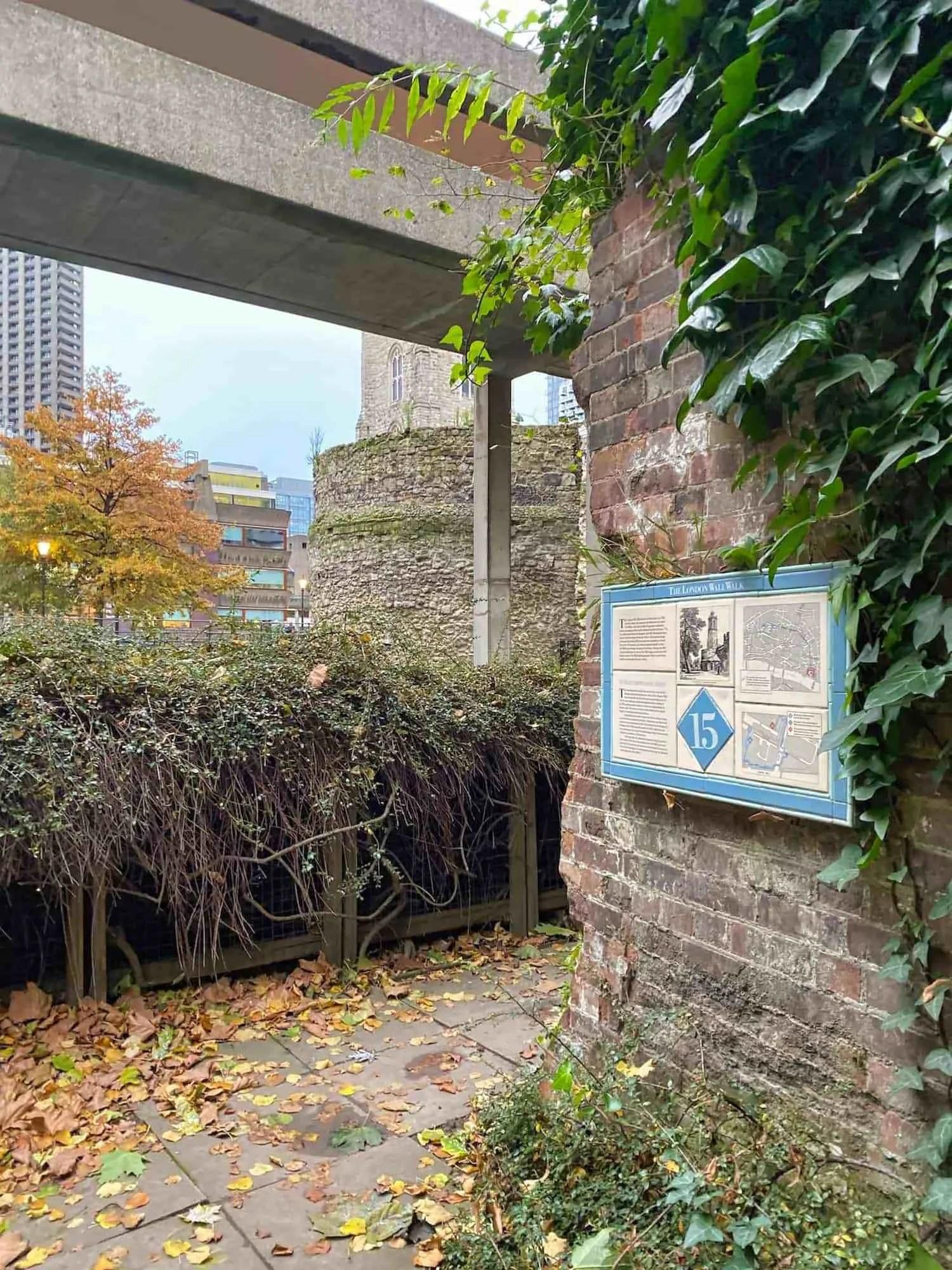 London Wall Walk - Plaque 15