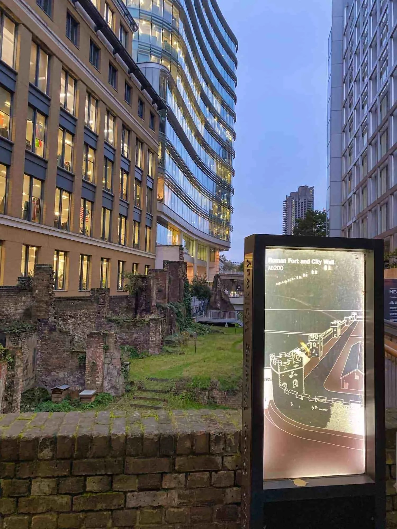 London Wall Walk - Plaque 20