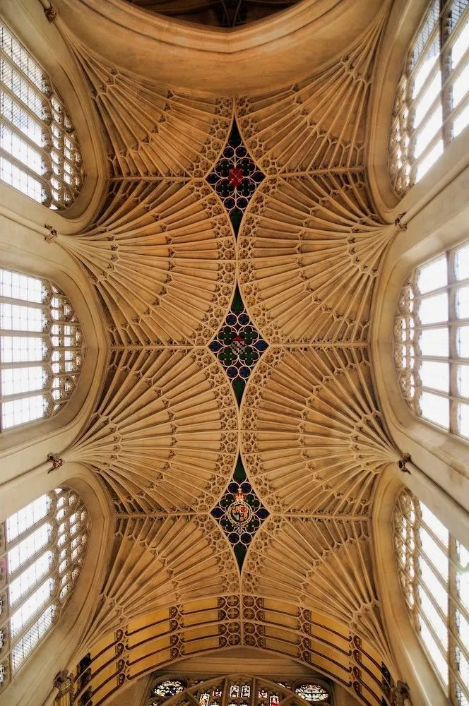 Bath Day Trip - Roof of the Abbey