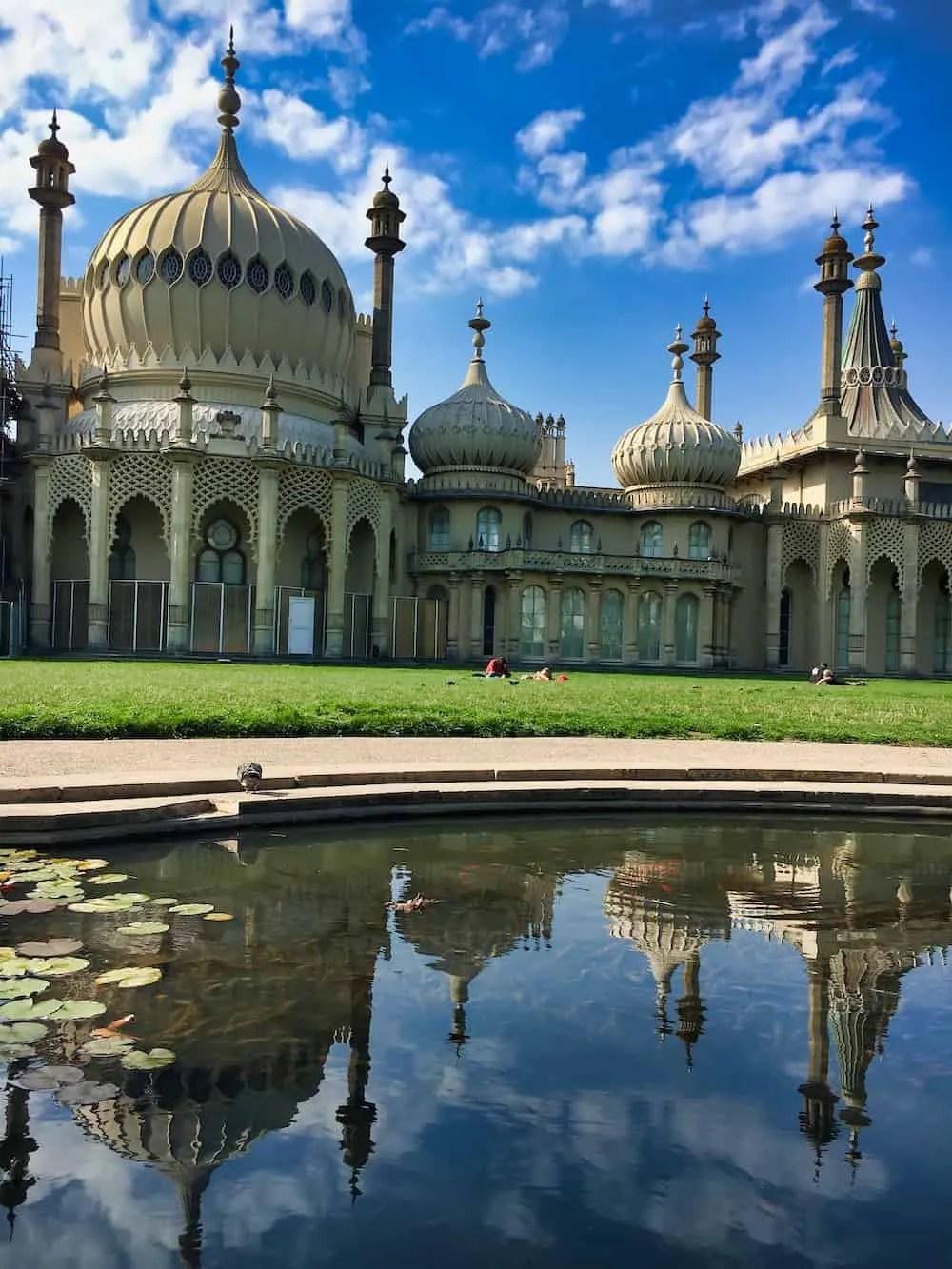 On the Brighton Pavilion Grounds