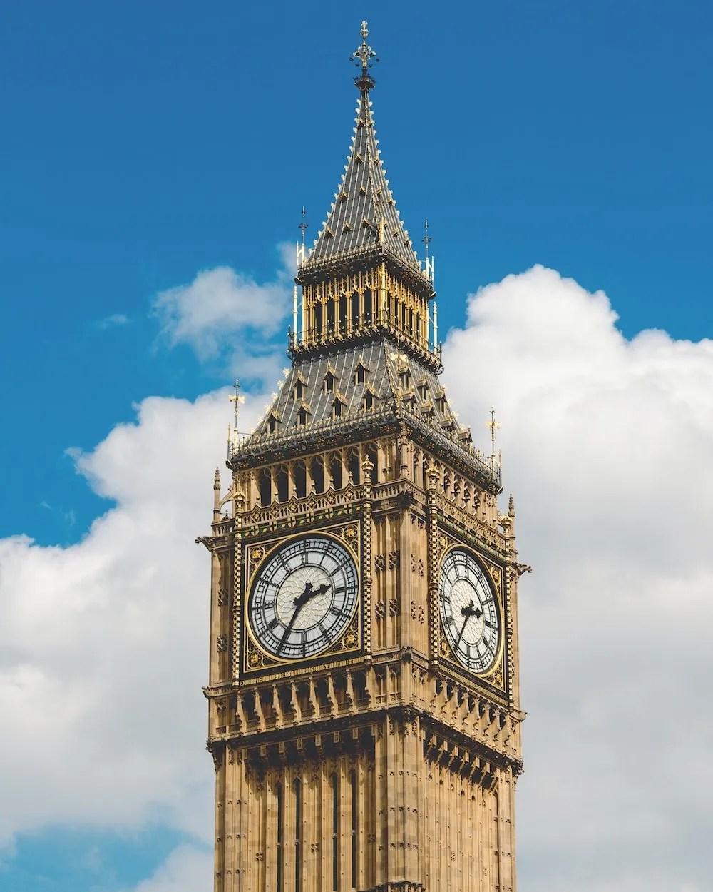 London Quotes - Big Ben