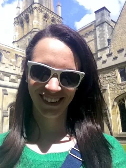 Valerie in Oxford Selfie