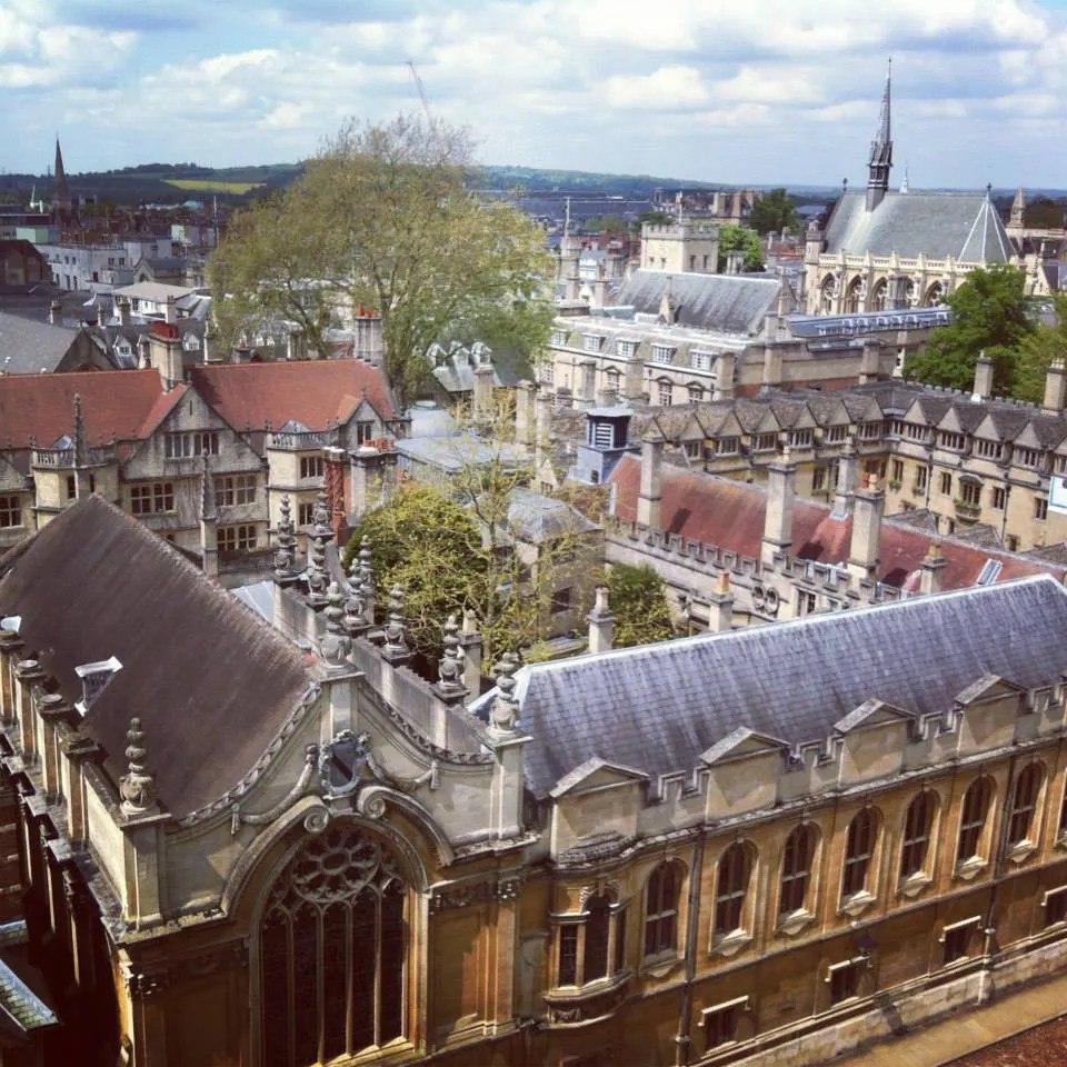Oxford Day Trip - View from the Tower
