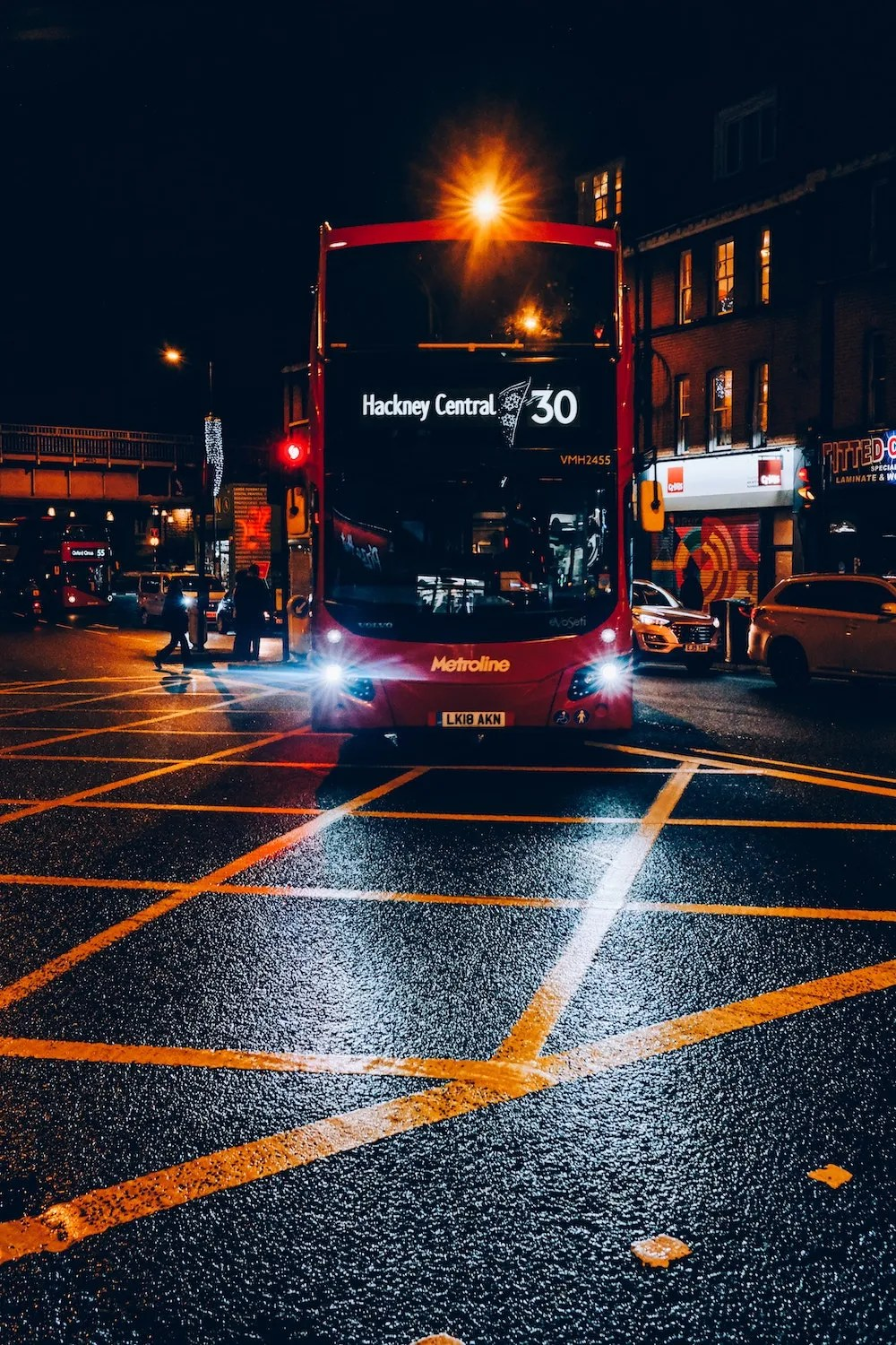 Where to Stay in East London - Hackney Bus