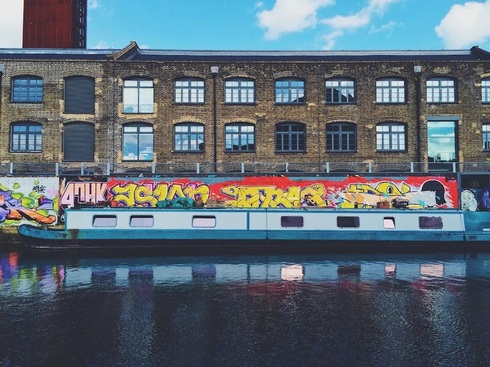 Where to Stay in East London - Hackney Boats