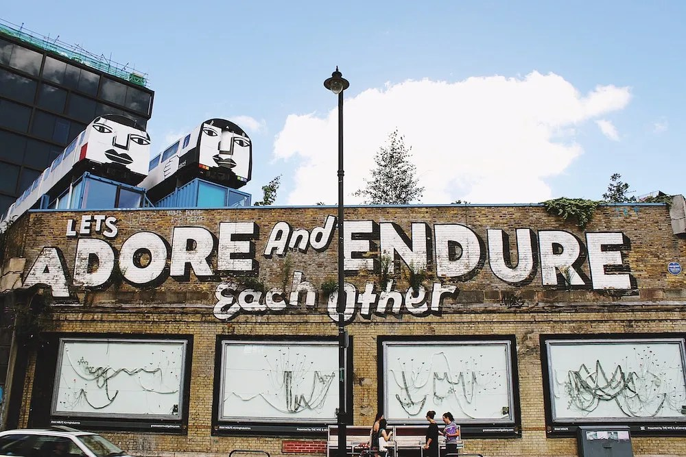 Where to Stay in East London - Shoreditch Street Art