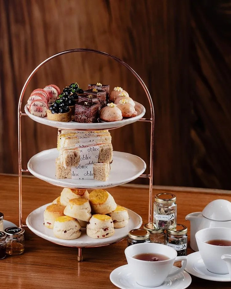 Afternoon Teas in London - Oblix
