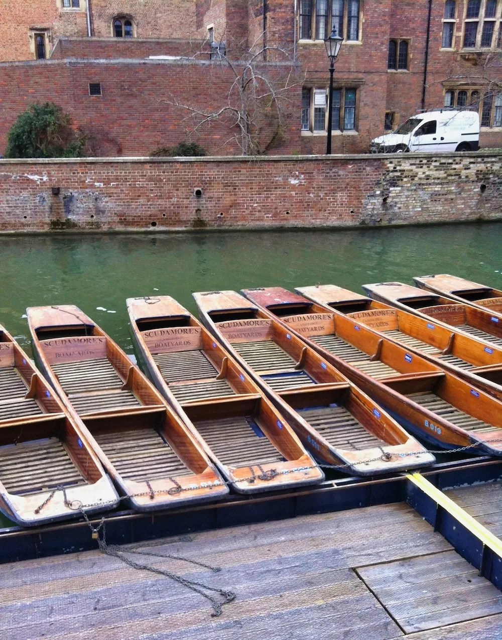 Cambridge Day Trip - Punting Boats