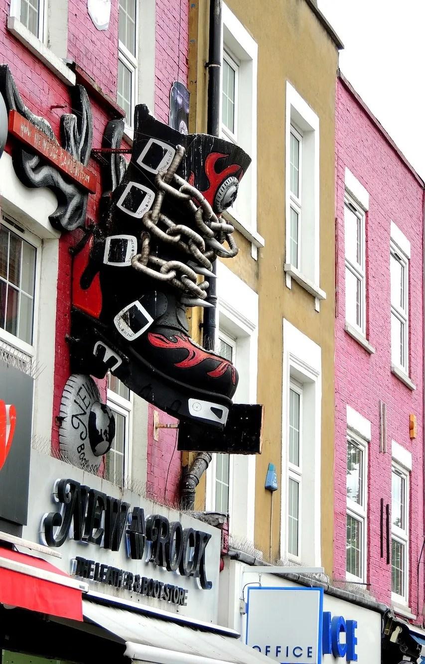 Famous London Streets - Camden High Street