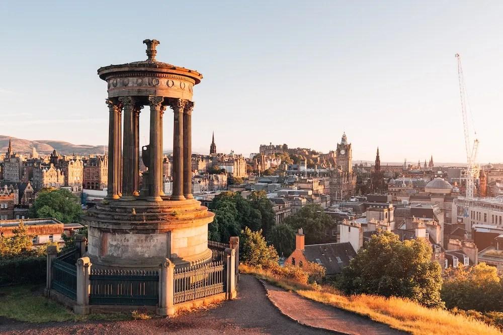 Day Trips from London - Edinburgh
