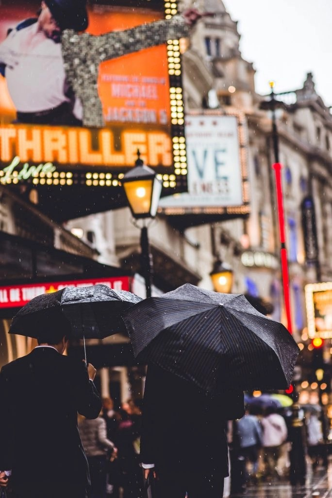 London on a Rainy Day - West End