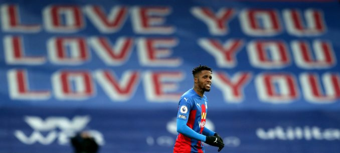 """Pure speculation"" – Palace boss Roy Hodgson reacts to Wilfried Zaha transfer links"