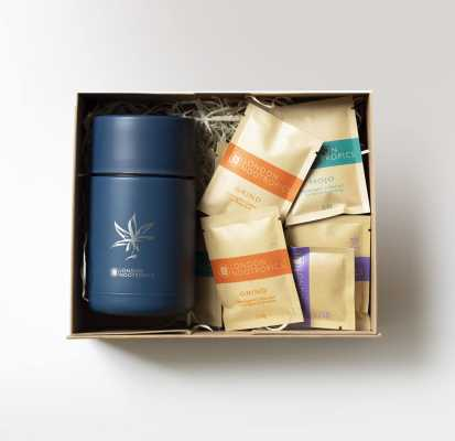 hemp leaf gift box