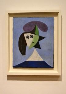 Woman in a Hat (Olga) by Pablo Picasso, 1935; Musée national d'art moderne Centre Pompidou, Paris © Succession Picasso / DACS London 2016
