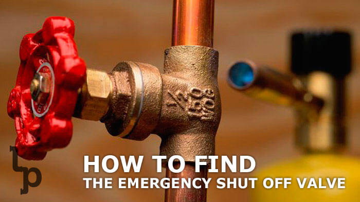 How To Find The Emergency Shut Off Valve London Ontario Plumbing