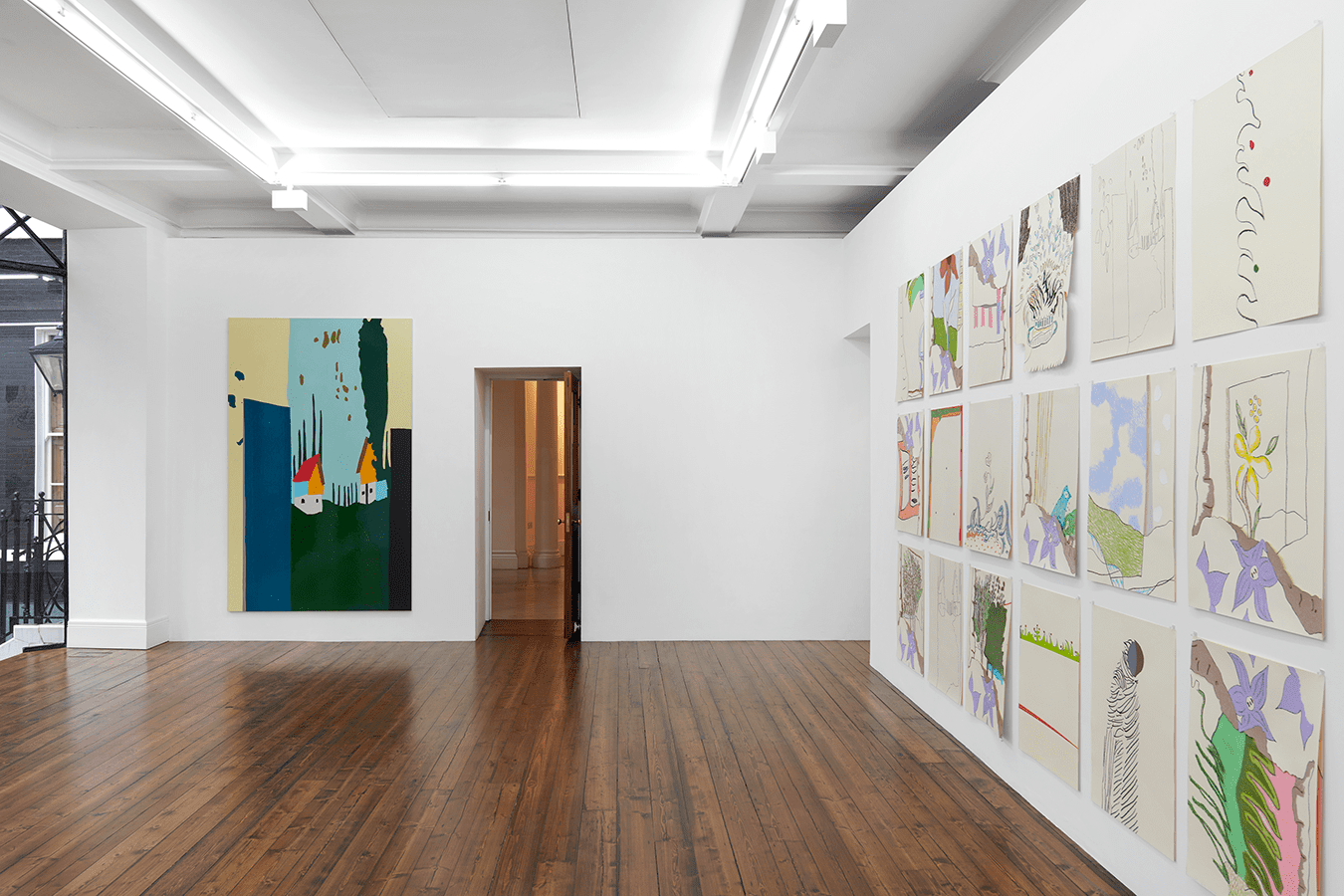 Gary Hume at Sprueth Magers London 2020