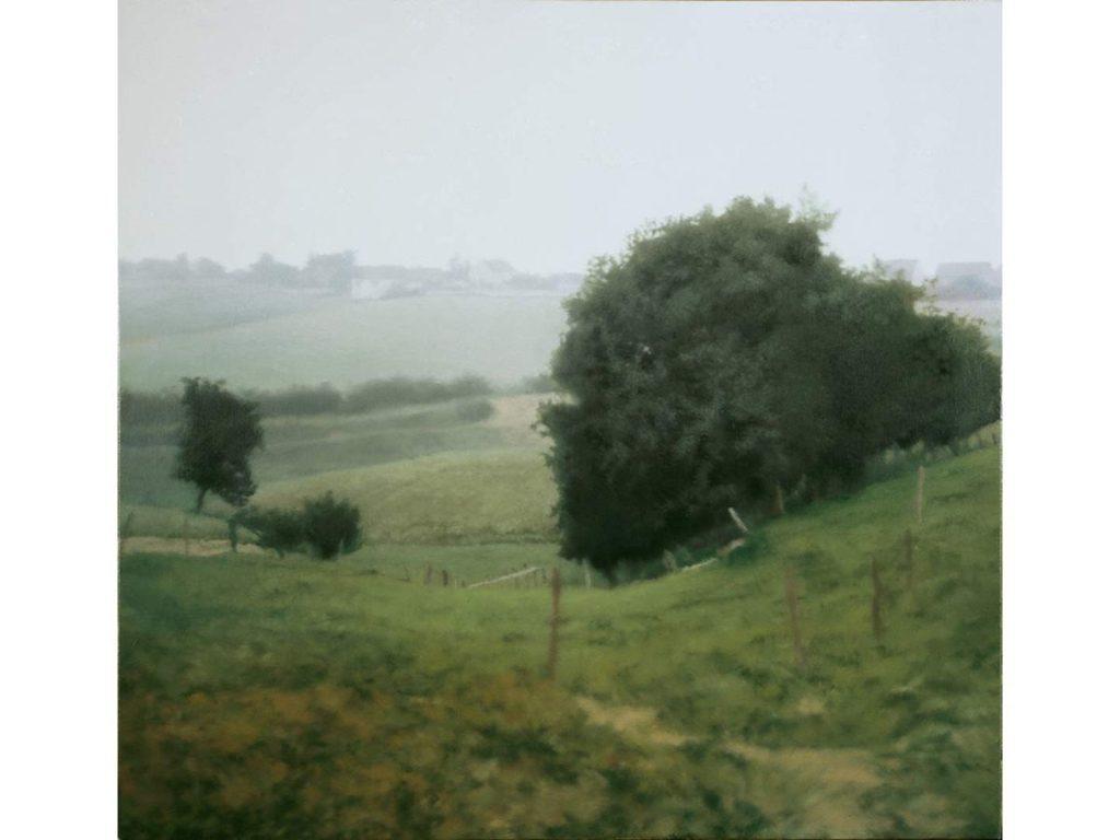 Gerhard Richter- Landscape 4