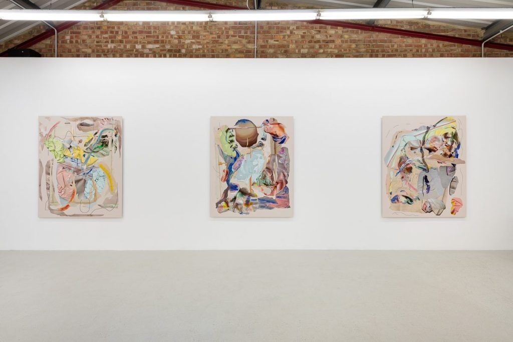 Rachel de Joode at Annka Kultys London Installation View