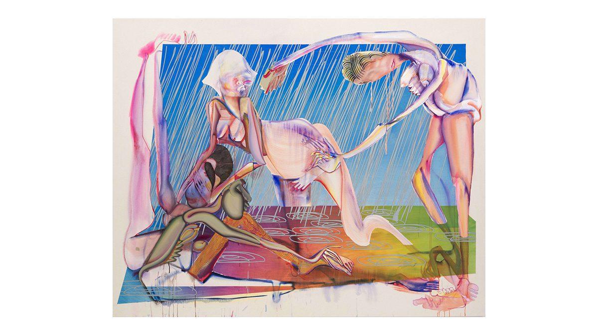 Christina Quarles at Pilar Corrias Gallery 2020