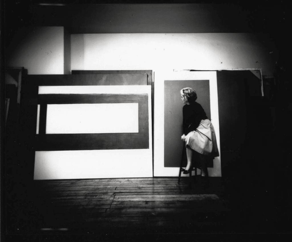 Perle Fine - NYC studio, 1962. Images courtesy of Gazelli Art House