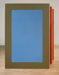 ROSE DAVEY YOUR COLOUR, 2020 Acrylic on birch plywood with tulip supports Each panel 160 x 106 x 16cm