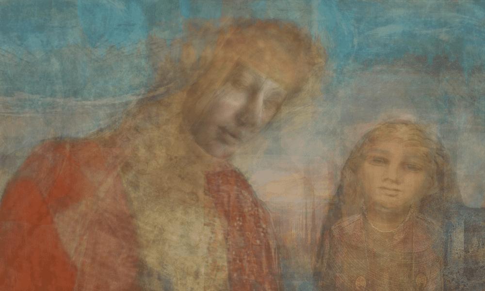 Christopher MacNeil, Mothers Gaze II, 2021, Digital mixed media, 63.5 x 40.6 cm, 25 x 16 in © The Artist