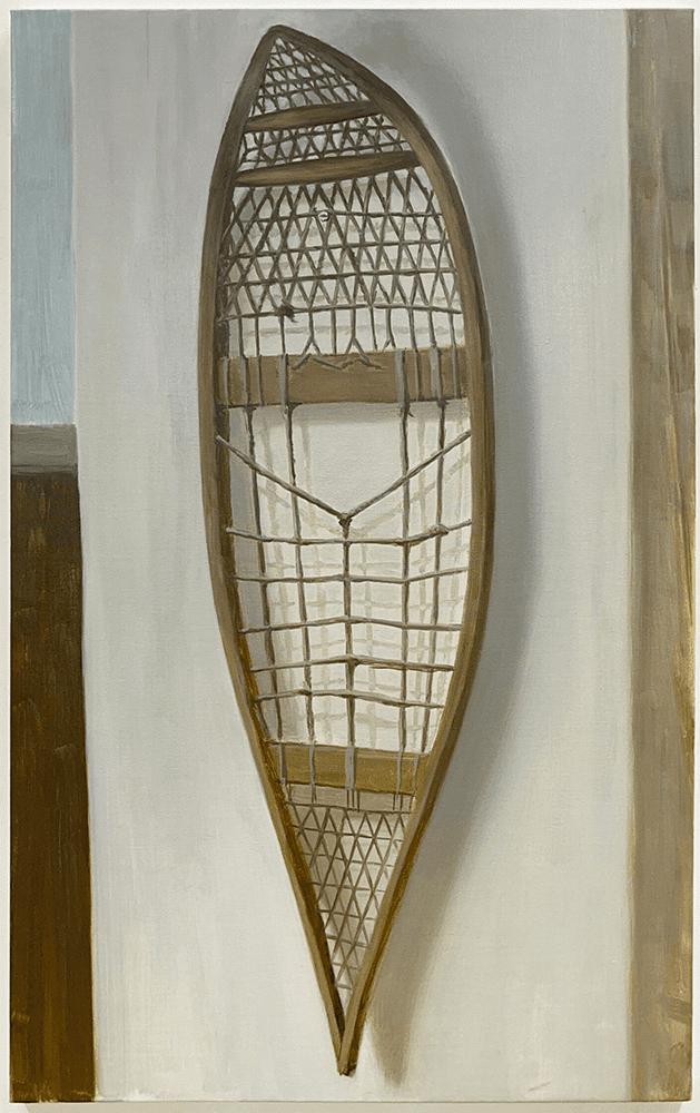 Hidetaka Suzuki, Stabilize, 2021, Oil on canvas, 116.7 x 72.7 cm, £2,600, © The Artist