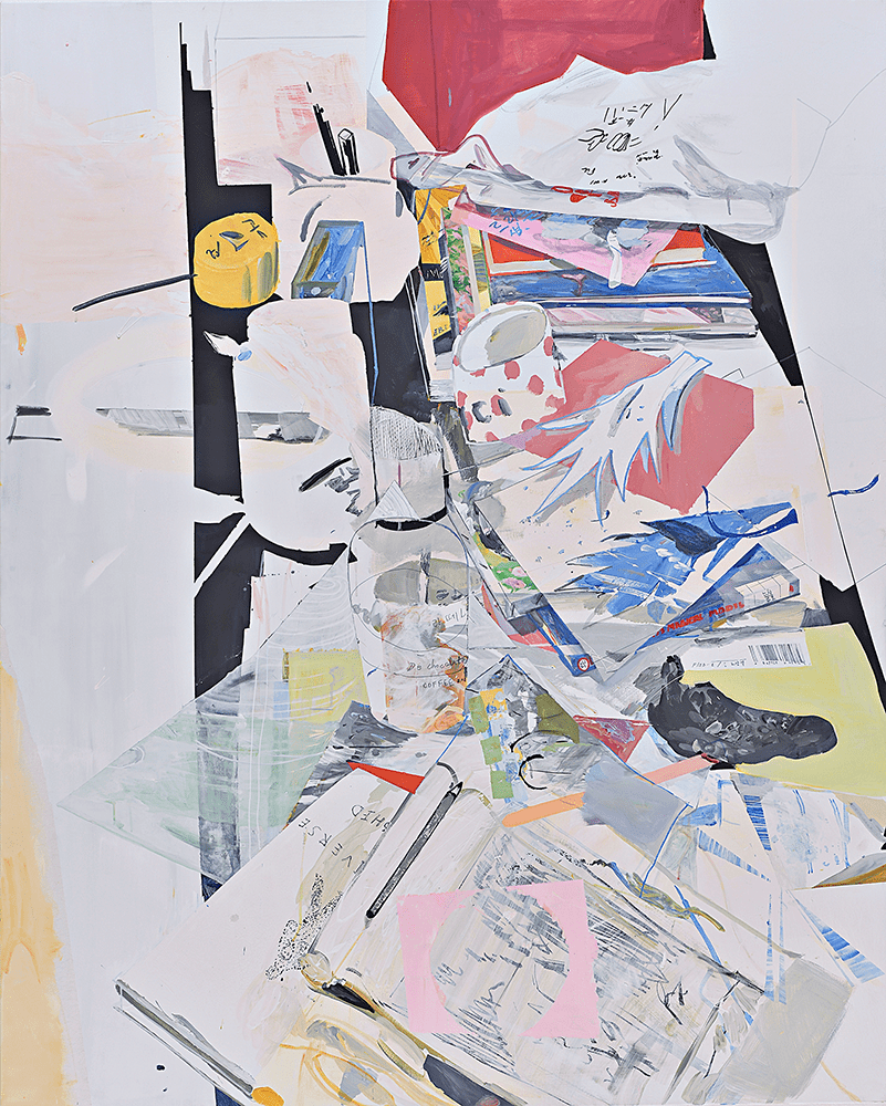 Jung Soo Cho, Walking through the Forest, 2019, Acrylic on canvas, 162 x 130 cm, Not For Sale, © The Artist