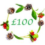 Xmas Gift Certificates 100