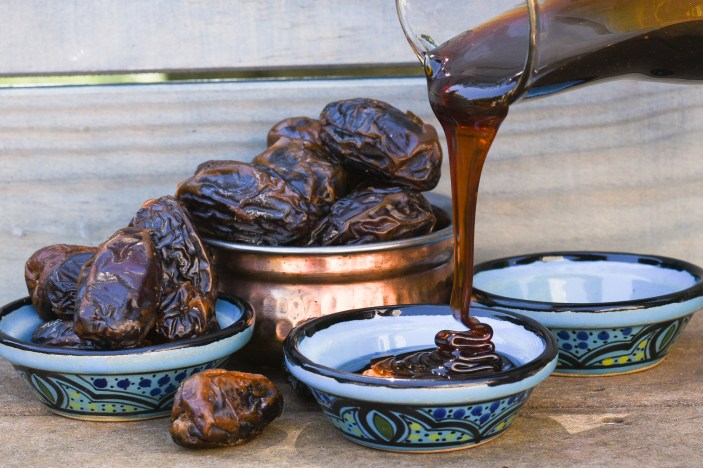 Dates and date syrup. Credit: Copyright 2016 Tami Weiser