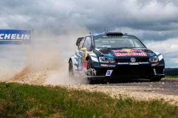 Andreas Mikkelsen (NOR) performs during the FIA World Rally Championship 2016 Germany in Trier, Germany on August 21, 2016 // Jaanus Ree/Red Bull Content Pool // For more content, pictures and videos like this please go to www.redbullcontentpool.com.