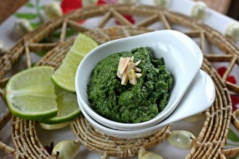 Mint and Cilantro Chutney. Some refer to mint as a quintessential summer herb for its boundless growth. Others complain that it takes over the garden. I say, savor the profusion. One easy way: make a classic mint chutney, with ginger, cilantro, lime juice and some salt and sugar. Credit: Copyright 2016 Rinku Bhattacharya