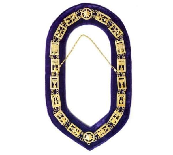 Cryptic Mason - Royal & Select Chain Collar