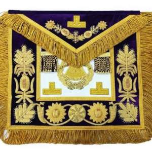 Deluxe Masonic Grand Master Apron Grand Lodge
