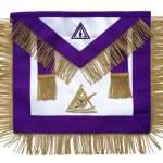 Masonic Council PIM Past Illustrious Master Apron Hand Embroidered
