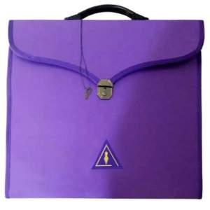 Masonic Cryptic Purple MM/WM and Provincial Full Dress Cases