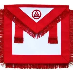Masonic Royal Arch Member RAM Apron With Fringe