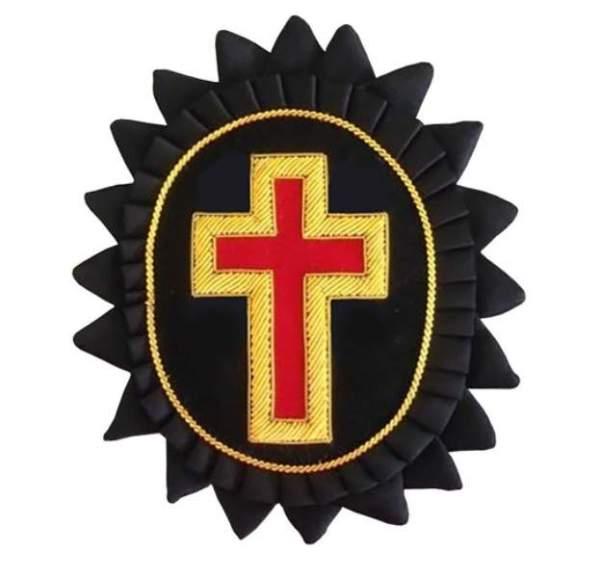 Knights Templar Chapeau Rosettes Eminent Commander londonregalia.com