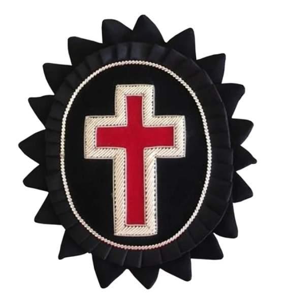 Knights Templar Chapeau Rosettes Sir Knight