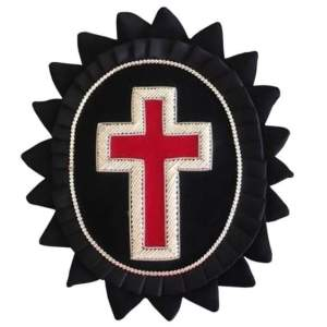 Knights Templar Chapeau Rosettes Sir Knight